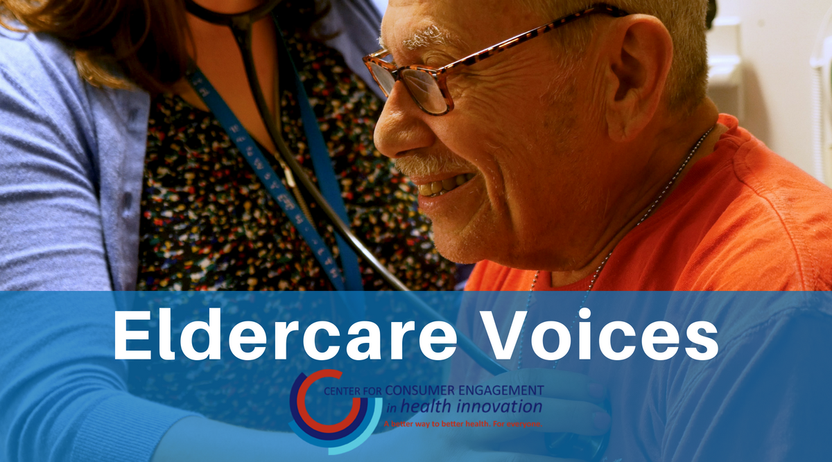 Eldercare Voices: Goal-Oriented Care Is Person-Centered Care